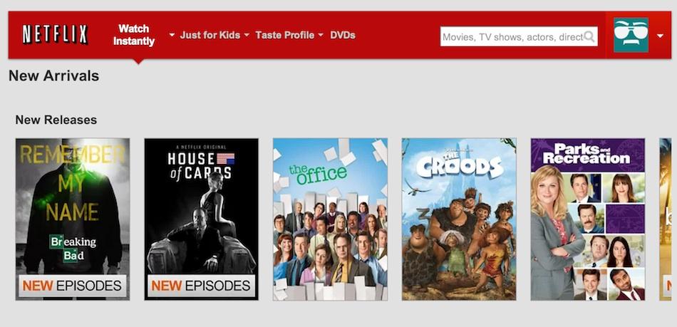 Netflix skjáskot