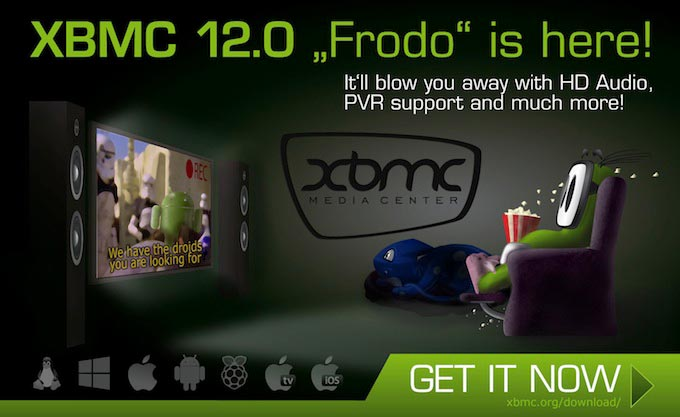 XBMC 12 - Frodo
