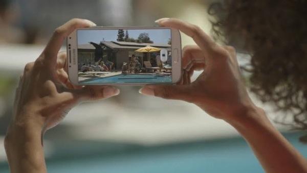 Samsung Galaxy S4 auglýsing