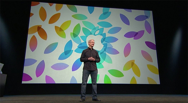 Tim Cook - iPad event - 22. okt 2013