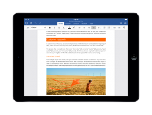 Microsoft Office - iPad