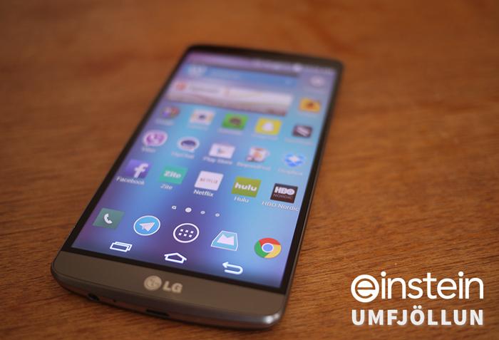 LG G3 - Umfjöllun