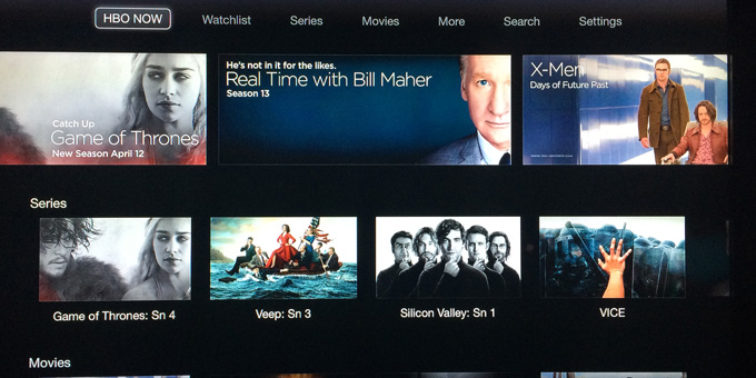 HBO NOW - Apple TV 2