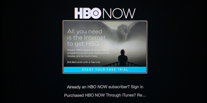 HBO NOW - Apple TV
