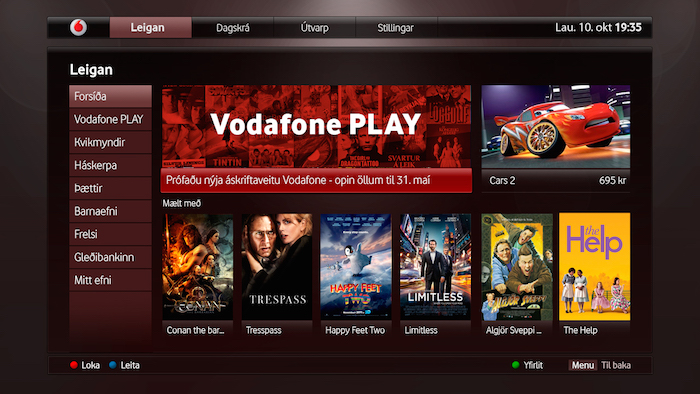Vodafone PLAY - Leigan