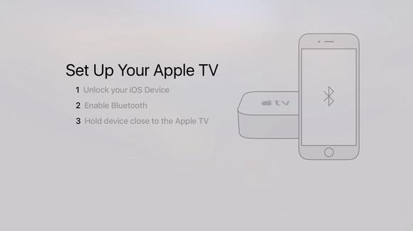 Apple TV - uppsetning