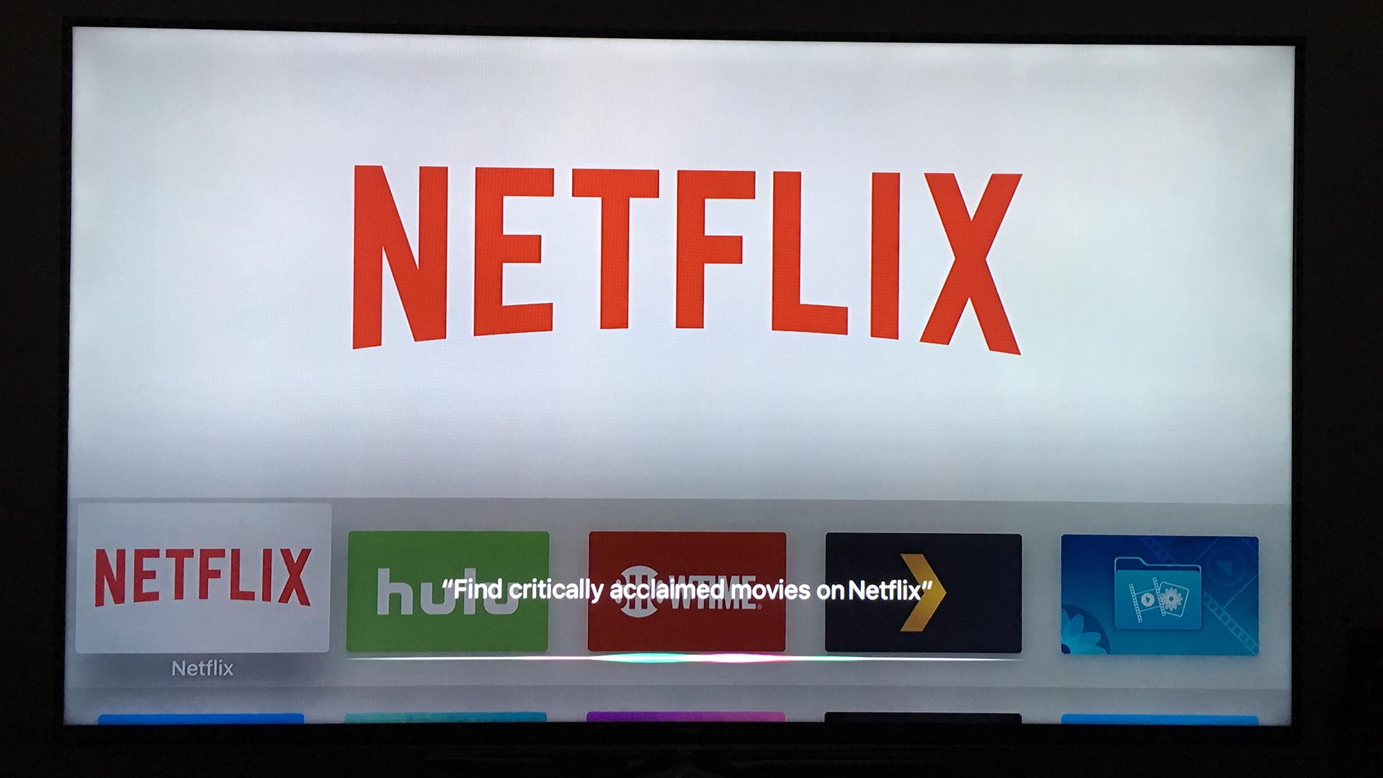 Siri - Critically acclaimed movies on Netflix